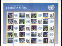 2011 - 725 à 729**MNH - ONU à Vienne - Vienna – International Centre