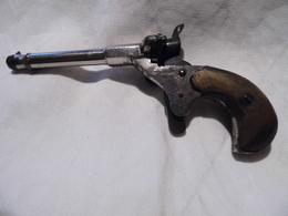 PETIT PISTOLET DE CYCLISTE CHROMÉ - Decorative Weapons