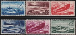 Espana   .    Yvert  .     624/629   .      *       .       Neuf Avec Gomme  .  /  .   Mint-hinged - 1931-50 Unused Stamps