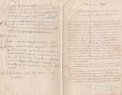 Lettre Cachet à Sec Warzawa Varsovie 1876 Concernent Vin Bordeaux Sauternes, Rauzan, Pauillac Explications En Français - Historical Documents