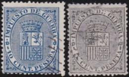 Espana   .    Yvert  .     Impots Du Guere  .  1/2       .     O       .      Oblitéré  .  /  .   Cancelled - Impuestos De Guerra