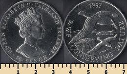 Falkland Islands 50 Pence 1997 - Malvinas
