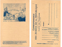 L.L. LACHAUDOL - Victoire - Carte En Franchise Militaire  (117834) - Altre Illustrazioni