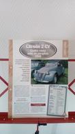 Fiche Collection Automobile Citroen 2cv De 1948 - Voitures
