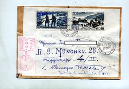 Devant De Lettre Recommandée Nantes Sur Debarquement  Niemen - Storia Postale