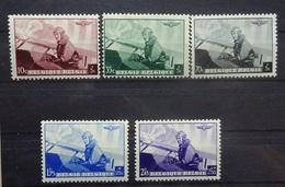BELGIE  1938    Nr. 466 - 470   Postfris **     CW  23,00 - Belgique