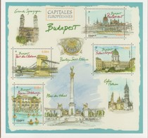 ENTIER POSTAL Capitales Europeennes BUDAPEST VOIR SCANS Recto Verso - Biglietto Postale