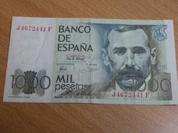 BILLET ESPAGNE. 1000 PESETAS 1979. - [ 4] 1975-… : Juan Carlos I