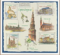 ENTIER POSTAL Capitales Europeennes COPENHAGUE VOIR SCANS Recto Verso - Letter Cards