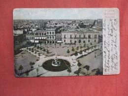 > Plaza Montevideo Uruguay.  Has Stamp & Cancel      Ref 3761 - Uruguay