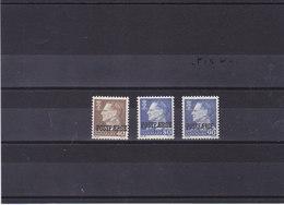 DANEMARK 1967-1970 POSTFAERGE Yvert 472-473 + 507 NEUF** MNH - Danimarca