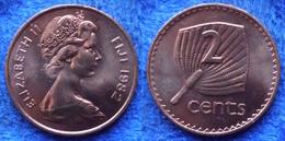 FIJI - 2 Cents 1982 KM# 28 Elizabeth II Decimal Coinage (1971) - Edelweiss Coins - Fiji