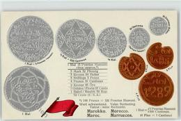 52278821 - Marokko Fahne - Munten (afbeeldingen)