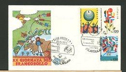 ITALIA -  FDC  1978 -  FILAGRANO  -  GIORNATA DEL FRANCOBOLLO - F.D.C.