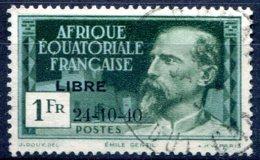 A.E.F   ( Afrique Equatoriale Française )      140C Oblitéré - A.E.F. (1936-1958)