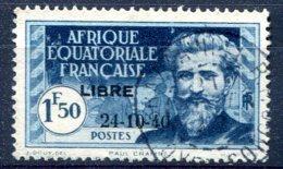 A.E.F   ( Afrique Equatoriale Française )      140D  Oblitéré - A.E.F. (1936-1958)
