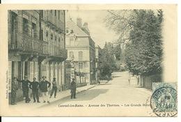 70 - LUXEUIL LES BAINS / AVENUE DES THERMES - LES GRANDS HOTELS - Luxeuil Les Bains