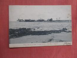 Pitch Lake La Brea  The Pier  Trinidad   Has Stamp & Cancel      Ref 3761 - Trinidad
