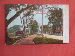 Pitch Walk Port Of Spain   Trinidad   Has Stamp & Cancel      Ref 3761 - Trinidad