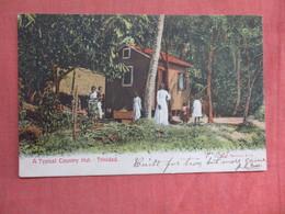 Typical Country Hut  Trinidad   Has Stamp & Cancel      Ref 3761 - Trinidad