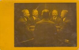 FIVE VIEWS OF THE SAME MAN 1911 REAL PHOTO POSTCARD SURREALISME PHOTO MONTAGE - Fotografía