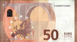 ! 50 Euro, R001C4, RA0000746061, Currency, Banknote, Billet Mario Draghi, EZB, Europäische Zentralbank - EURO