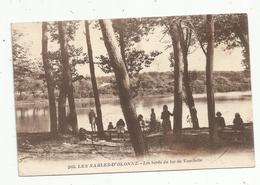 Cp, 85 , LES SABLES D'OLONNE ,les Bords Du Lac De TANCHETTE , Voyagée - Sables D'Olonne