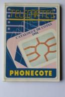 CATALOGUE DE COTES TELECARTES  1991 - Tarjetas Telefónicas