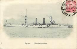 Pays Div-ref W522- Bresil - Brasil -brazil - Marine De Guerre - Bateaux - Bateau Barroso - Marinha Brazileira - - Brazilië