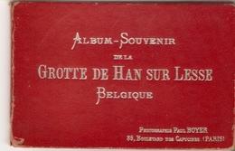Han - Sur - Lesse : Grotten Van Han / Album Met 12 Aan één Hangende Foto's . - Rochefort