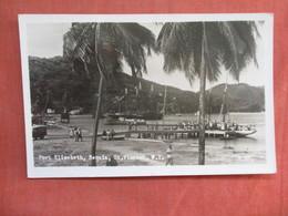 RPPC Port Elizabeth Bequia St Vincent W.I.     Has Stamp & Cancel      Ref 3762 - Saint Vincent &  The Grenadines