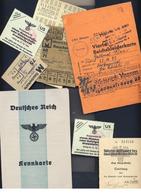 III. Reich II. WK Kennkarte, Kleiderkarte , Usw.... - 1939-45