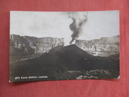 RPPC Volcano Eruption Has Stamp & Cancel      Ref 3762 - Other