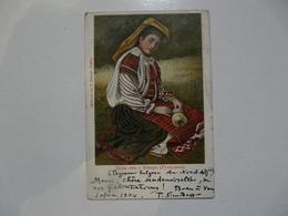 CPA BULGARIE - SOFIA : Carte Fantaisie - Paysanne Du Nord - Bulgarije