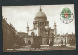 Potsdam; Stadtschloss; Fortuna Portal; Nikolaikirche -  Maca0237 - Potsdam