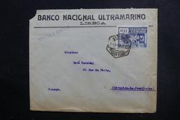 PORTUGAL - Enveloppe Commerciale De Lisbonne Pour La France En 1924, Affranchissement Plaisant - L 49131 - 1910-... République