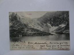 CPA BULGARIE : Montagnes - Bulgarije