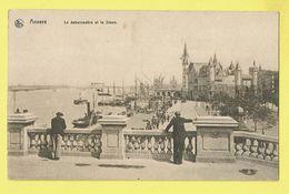 * Antwerpen - Anvers - Antwerp * (Ed Nels, Série Anvers, Nr 20) Le Débarcadère Et Le Steen, Schelde, Bateau, Boat - Antwerpen