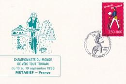 METABIEF  --  CHAMPIONNAT  DU  MONDE  DE  V.T.T - France