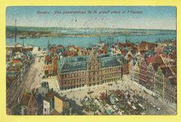 * Antwerpen - Anvers - Antwerp * (J.N. & Co. Br. - KLEUR) Vue Panoramique De La Grand'Place Et L'Escaut, Schelde - Antwerpen