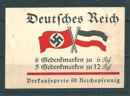 Markenheftchen 32  Fridericus 1933 - Markenheftchen