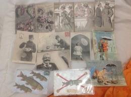 Lot 13 Cartes Illustrateur Et Avril - DEM - Fantasia