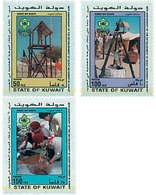 Ref. 38248 * MNH * - KUWAIT. 1996. 60th ANNIVERSARY OF THE SCOUTS IN KUWAIT . 60 ANIVERSARIO DEL ESCULTISMO EN KUWAIT - Francobolli
