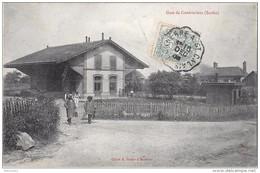 COUDRECIEUX - La Gare - France