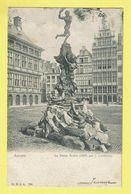 * Antwerpen - Anvers - Antwerp * (H.N. à A., Nr 738) La Statue Brabo 1887 Par J. Lambeaux, Grand'Place, Markt - Antwerpen
