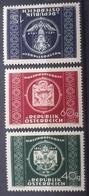 Österreich 1949, UPU, ANK 955-57, MNH Postfrisch - 1945-.... 2. Republik