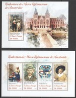 ST1758 2013 S. TOME E PRINCIPE ART PAINTINGS RIJKSMUSEUM OF AMSTERDAM KB+BL MNH - Andere