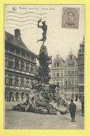 * Antwerpen - Anvers - Antwerp * (Nels, Série 25, Nr 41) Grand'Place, Fontaine Brabo, Grote Markt, Statue, Monument - Antwerpen