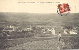 Villeneuve Sur Bellot, Vue Prise Sur Le Chemin De Fontaine - France