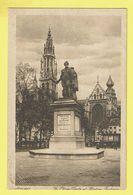 * Antwerpen - Anvers - Antwerp * La Place Verte Et Statue Peintre Rubens, Groenplaats, Standbeeld Rubens - Antwerpen